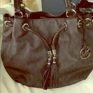 Large authentic Michael Kors purse.